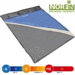 Cпальный мешок-одеяло двухместный Norfin SCANDIC COMFORT DOUBLE 300 NFL